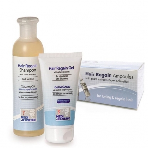 Hair Regain Ampoules + Gel + Shampoo
